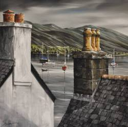 'Two Chimneys' - Ullapool