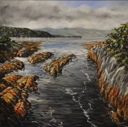 'From the Bridge'- Ardtornish to Mull