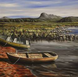 '2 Boats' - Loch Oscaig to Suiliven