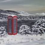 Winter Phone Box - Cowall