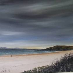 Stormy skies - 'Local Hero' Beach - Morar