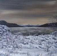Winter Shore - Kyles of Bute