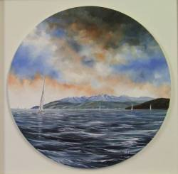 Heading Home - Loch Fyne to Arran (Porthole)