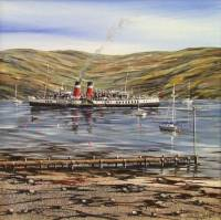 'To the Kyles' - Waverley off Tighnabruich